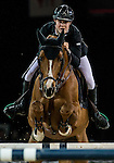 Constant Van Paesschen of Belgium rides Citizenguard Taalex in action during the Longines Grand Prix as part of the Longines Hong Kong Masters on 15 February 2015, at the Asia World Expo, outskirts Hong Kong, China. Photo by Victor Fraile / Power Sport Images