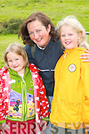 RACE DAY: Henriette, Uta and Sopie Held, Waterville, having fun at the Caherciveen races on Sunday  .