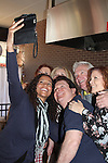 Guiding Light's Michael O'Leary with Yvonna Kopacz Wright, Beth Chamberlin, Jerry ver Dorn, Liz Keifer, As the World Turns' Anne Sayre - 1st Annual Bauer BBQ hosted by Michael O'Leary - 13th Annual Daytime Stars and Strikes for Autism on April 24, 2016 at The Residence Inn Secaucus Meadowlands, Secaucus, NJ. April is Autism Awareness Month - Make a Difference This Spring. (Photo by Sue Coflin/Max Photos)