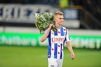 VOETBAL: HEERENVEEN: Abe Lenstra Stadion 08-11-2014, SC Heerenveen - Go Ahead Eagles, uitslag 2-2, Daley Sinkgraven (MotM sc Heerenveen), ©foto Martin de Jong