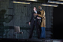 EMBARGOED UNTIL 7:30pm 11.04.15. London, UK. 09.04.2015. English National Opera presents the world premiere of Tansy Davies' BETWEEN WORLDS, at the Barbican. Picture shows: William Morgan (Younger Man) and Eric Greene (Janitor). Photograph © Jane Hobson.