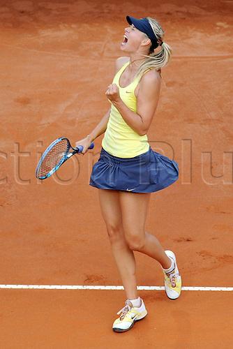 15 05 2011  Maria Sharapova RUS BNL Internazionali  Tennis  Roma Final Internazionali  Tennis D Italia Foro Italico Roma