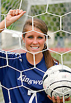 Kingwood High School's Hope Ward is the Chronicle's All Greater Houston girls soccer player of the year. She plays attacking midfielder for Kingwood High.  (Wednesday, April 30, 2008, in Houston. ( Steve Campbell / Chronicle).