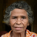 A woman in Santa Ines, an indigenous village in the Philippines.