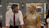 Celebrity Big Brother 2017<br /> Amelia Lily and Chad Johnson.<br /> *Editorial Use Only*<br /> CAP/KFS<br /> Image supplied by Capital Pictures