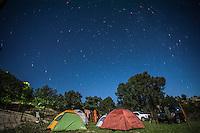 El Campamento, La Luna y La Noche