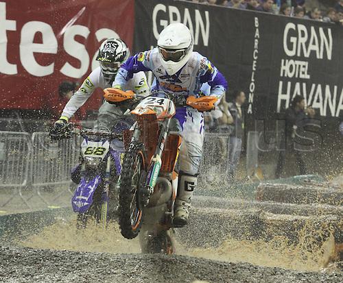 06.02.2011 FIM Indoor Enduro World Championship in Barcelona. Picture shows Jonny Walker GBR