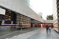 Centro de Cultura Digital (CCD) a musuem of digital culture at the Estela de Luz in Mexico City.  Designed bu at103.