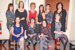 Siobhan O'Sullivan, Coolcumisk, Beaufort, pictured with Mary Coffey, Hannah O'Sullivan Rouse, Mary O'Connor, Una Sheehan, Anna O'Brien, Norma McHugh, Maria Coffey, Eileen Coffey and Kerry Hallissey as she celebrated her 40th birthday in Lord Kenmares restaurant, Killarney on Friday night.