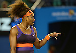 Serena Williams (USA) Tromps Maria Kirilenko (RUS) 6-2, 6-0