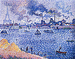 The Seine, Grenelle, 1899<br />