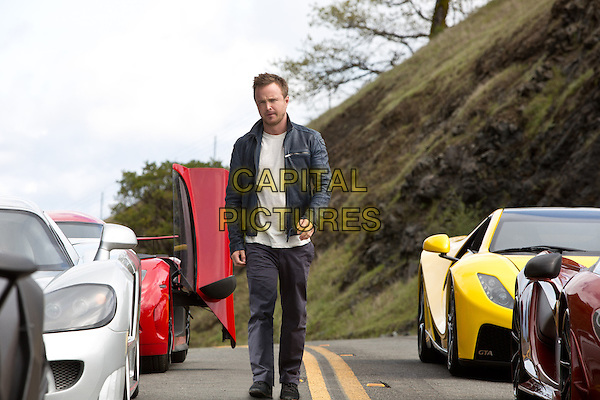 Aaron Paul  <br /> in Need for Speed (2014)  <br /> *Filmstill - Editorial Use Only*<br /> CAP/NFS<br /> Image supplied by Capital Pictures