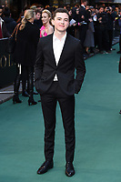 "Harry Gilby<br /> arriving for the ""TOLKIEN"" premiere at the Curzon Mayfair, London<br /> <br /> ©Ash Knotek  D3499  29/04/2019"