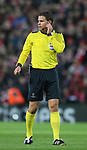 Referee Felix Brych during the Champions League Semi Final 1st Leg match at Anfield Stadium, Liverpool. Picture date: 24th April 2018. Picture credit should read: Simon Bellis/Sportimage