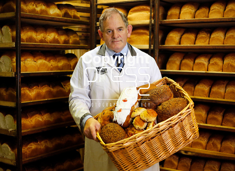08/10/2014<br /> Pat Twomey of Twomey's Bakery, Dromcollogher, Co. Limerick.<br /> Picture: Don Moloney / Press 22