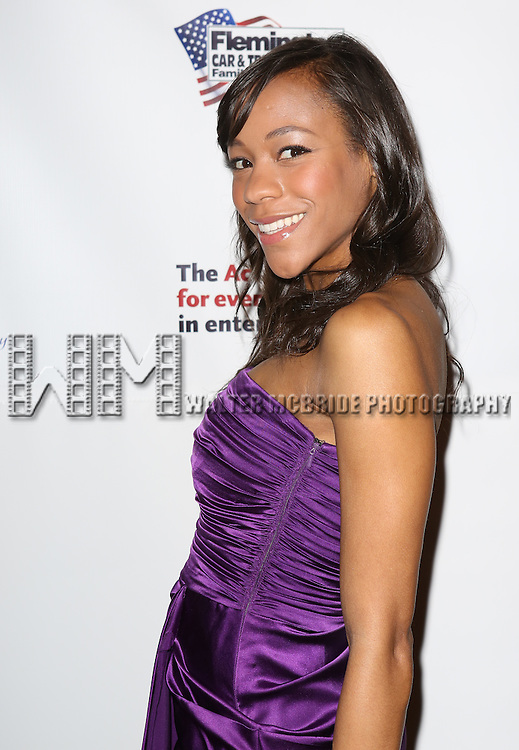 Nikki James  attending the 2013 Actors Fund Annual Gala at the Mariott Marquis Hotel in New York on 4/29/2013...