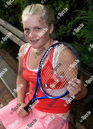2008-05-28 / Tennis / Stephanie Van Regenmortel..Foto: Maarten Straetemans (SMB)