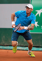 France, Paris, 28.05.2014. Tennis, French Open, Roland Garros, Andreas Haider-Maurer (AUT)<br /> Photo:Tennisimages/Henk Koster
