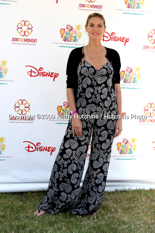 "Heidi Klum  arriving at the ""A Time For Heroes Celebrity Carnival"" benefiting the Elizabeth Glaser Pediatrics AIDS Foundation at the Wadsworth Theater Grounds in Westwood , CA on June 7, 2009 .©2009 Kathy Hutchins / Hutchins Photo.."