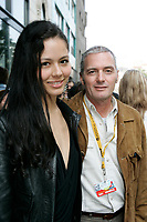 Martina Garcia, actress,<br /> Sergio Cabrero, film maker <br />  THE ART OF LOSING ( PERDER ES CUESTION DE METODO<br /> Photo : (c) 2004 by Pierre Roussel / Images Distribution