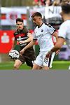 16.03.2019, BWT-Stadion am Hardtwald, Sandhausen, GER, 2. FBL, SV Sandhausen vs FC St. Pauli, <br /> <br /> DFL REGULATIONS PROHIBIT ANY USE OF PHOTOGRAPHS AS IMAGE SEQUENCES AND/OR QUASI-VIDEO.<br /> <br /> im Bild: Luca Zander (FC St. Pauli #19) gegen Philipp F&ouml;rster / Foerster / Forster (SV Sandhausen #28)<br /> <br /> Foto &copy; nordphoto / Fabisch