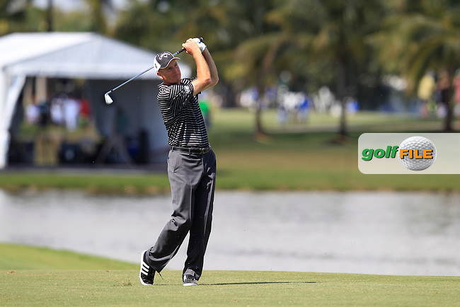 Jim Furyk (USA) during the 2nd round at the WGC Cadillac Championship, Blue Monster, Trump National Doral, Doral, Florida, USA<br /> Picture: Fran Caffrey / Golffile