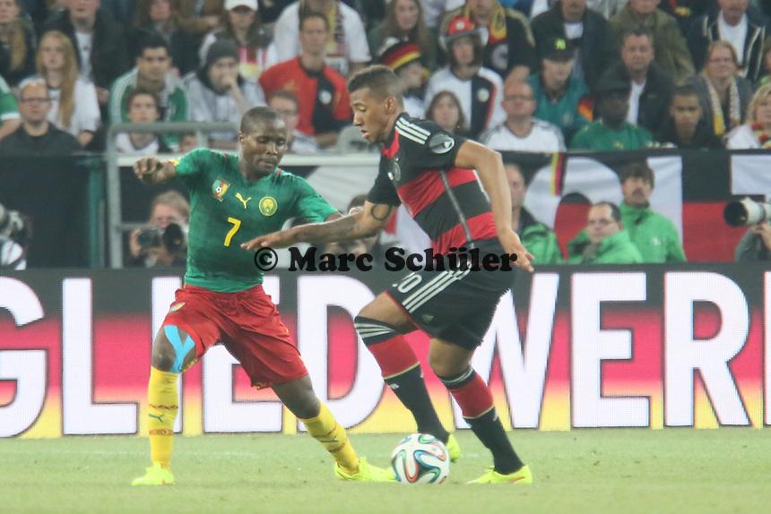 Jerome Boateng (D) gegen landry N'Guemo (CAM) - Deutschland vs. Kamerun, Mönchengladbach