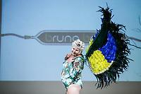 SÃO PAULO, SP, 06.03.2016 - FWPS-BRUNO BACCK- Ex BBB Nana durante desfile da grife Bruno Bacck no Fashion Weekend Plus Size - Inverno 2016, no Teatro APCD no bairro de Santana na região norte de São Paulo, neste domingo, 06. (Foto: Vanessa Carvalho/Brazil Photo Press)
