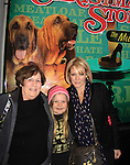 """Maura West - As The World Turns' """"Carly"""" and Young and Restless, poses with her daughter Kate and husband's mom as son Joe makes his Broadway Debut as """"Ralphie"""" in A Christmas Story The Musicall on December 20, 2012 at the Lunt-Fontanne Theatre, New York City, New York. (Photo by Sue Coflin/Max Photos)"""