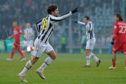 20 December 2009 - Italian serie A, Juventus vs Catania, in Turin, Italy. Pictured: Diego