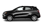 Car Driver side profile view of a 2018 Buick Encore Premium 5 Door SUV Side View