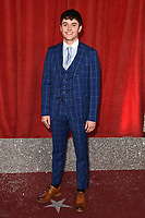 Luke Jerdy<br /> arriving for The British Soap Awards 2019 at the Lowry Theatre, Manchester<br /> <br /> ©Ash Knotek  D3505  01/06/2019