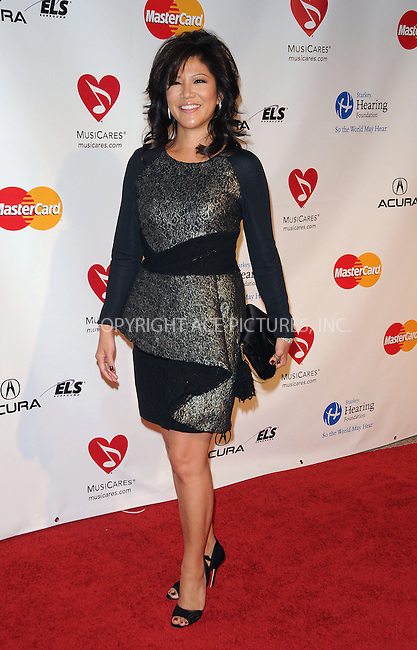 WWW.ACEPIXS.COM . . . . . ....February 11 2011, Los Angeles....TV Personnality Julie Chen arriving at the 2011 MusiCares Person of the Year Tribute to Barbra Streisand at the Los Angeles Convention Center on February 11, 2011 in Los Angeles, CA....Please byline: PETER WEST - ACEPIXS.COM....Ace Pictures, Inc:  ..(212) 243-8787 or (646) 679 0430..e-mail: picturedesk@acepixs.com..web: http://www.acepixs.com