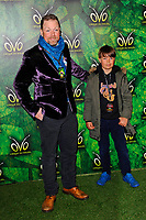 LONDON, ENGLAND - JANUARY 10: Rufus Hound attending 'Cirque du Soleil - OVO' at the Royal Albert Hall on January 10, 2018 in London, England.<br /> CAP/MAR<br /> &copy;MAR/Capital Pictures