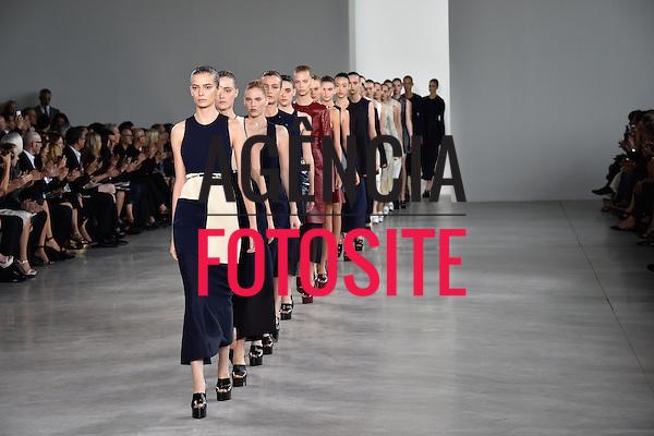 Nova Iorque, EUA &sbquo;09/2014 - Desfile de Calvin Klein durante a Semana de moda de Nova Iorque  -  Verao 2015. <br /> <br /> Foto: FOTOSITE
