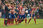 Atletico de Madrid's during penalty shootout during UEFA Champions League match. March 15,2016. (ALTERPHOTOS/Borja B.Hojas)