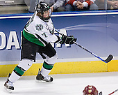 TJ Oshie - The Boston College Eagles defeated the University of North Dakota Fighting Sioux 6-5 on Thursday, April 6, 2006, in the 2006 Frozen Four afternoon Semi-Final at the Bradley Center in Milwaukee, Wisconsin.