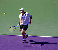 Andy RODDICK (USA) against Benjamin BECKER (GER) in the fourth round of the men's singles. Andy Roddick beat Benjamin Becker 7-6 6-3..International Tennis - 2010 ATP World Tour - Sony Ericsson Open - Crandon Park Tennis Center - Key Biscayne - Miami - Florida - USA - Tue 30th Mar 2010..© Frey - Amn Images, Level 1, Barry House, 20-22 Worple Road, London, SW19 4DH, UK .Tel - +44 20 8947 0100.Fax -+44 20 8947 0117