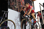 Jurgen Roelandts (BEL) Lotto-Soudal team on stage at the Team Presentation in Burgplatz Dusseldorf before the 104th edition of the Tour de France 2017, Dusseldorf, Germany. 29th June 2017.<br /> Picture: Eoin Clarke | Cyclefile<br /> <br /> <br /> All photos usage must carry mandatory copyright credit (&copy; Cyclefile | Eoin Clarke)