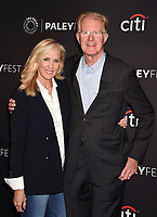 BEVERLY HILLS, CA - SEPTEMBER 08:  Actor Ed Begley Jr. (R) and wife Rachelle Carson attend The Paley Center for Media's 11th Annual PaleyFest fall TV previews Los Angeles for Hulu's The Mindy Project at The Paley Center for Media on September 8, 2017 in Beverly Hills, California.<br /> CAP/ROT/TM<br /> &copy;TM/ROT/Capital Pictures