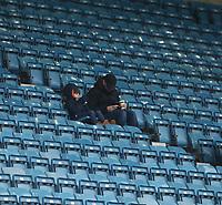 Bolton fans<br /> <br /> Photographer Rob Newell/CameraSport<br /> <br /> The EFL Sky Bet Championship - Millwall v Bolton Wanderers - Saturday 24th November 2018 - The Den - London<br /> <br /> World Copyright &copy; 2018 CameraSport. All rights reserved. 43 Linden Ave. Countesthorpe. Leicester. England. LE8 5PG - Tel: +44 (0) 116 277 4147 - admin@camerasport.com - www.camerasport.com