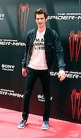 Andrew Garfield - The Amazing Spider-Man - photocall in Madrid NORTEPHOTO.COM<br /> **SOLO*VENTA*EN*MEXICO**<br /> **CREDITO*OBLIGATORIO** <br /> *No*Venta*A*Terceros*
