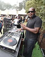 SAN FRANCISCO, CALIFORNIA - AUGUST 10: DJ Logic performs onstage during the 2019 Outside Lands Music And Arts Festival at Golden Gate Park on August 10, 2019 in San Francisco, California. <br /> CAP/MPI/IS<br /> ©IS/MPI/Capital Pictures