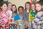 Champs: Members of the Ballyduff Bord na nOg GAA club who were delighted to have been presented with their awards on Friday night by Kerry's Paul Galvin at the club house.   Copyright Kerry's Eye 2008