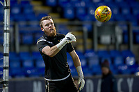 12th February 2020; McDairmid Park, Perth, Perth and Kinross, Scotland; Scottish Premiership Football, St Johnstone versus Motherwell; Zander Clark of St Johnstone during the warm up before the match