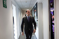 Milano: Angelino Alfano durante la campagna elettorale 2013..Milan: PDL Secretary Angelino Alfano during the election campaign for elections 2013