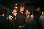 George Wilson, Adrian Alicea, Pony Zion attend the Adrian Alicea Haute Couture Show Held at The National Black Theater 2/17/11