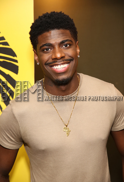 """Jawan M. Jackson attends the Broadway screening of the Motion Picture Release of """"The Lion King"""" at AMC Empire 25 on July 15, 2019 in New York City."""