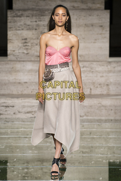 Salvatore Ferragamo<br /> catwalk show at Milan Fashion Week Spring/Summer 2018 in Milan, Italy in September 2017.<br /> CAP/GOL<br /> &copy;GOL/Capital Pictures
