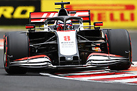 18th July 2020, Hungaroring, Budapest, Hungary; F1 Grand Prix of Hungary,  qualifying sessions;  8 Romain Grosjean FRA, Haas F1 Team